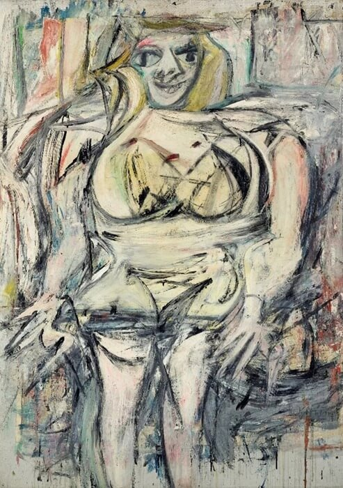 Виллем де Кунинг «ЖенщинаIII», 1953