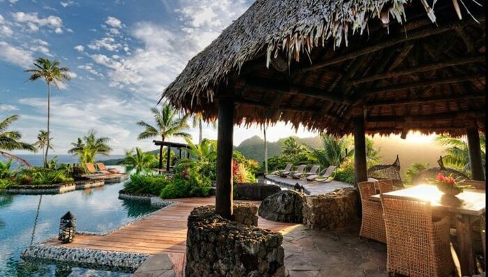 Laucala Island Resort – $35 000