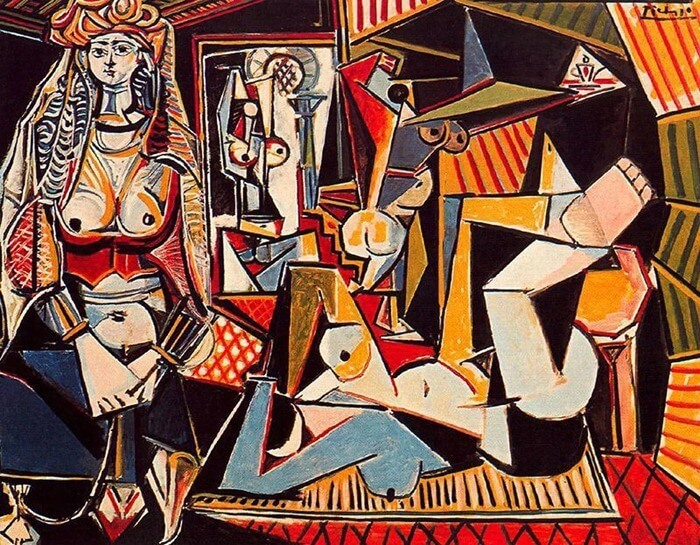 Пабло Пикассо«Алжирские женщины (версия О)», 1955