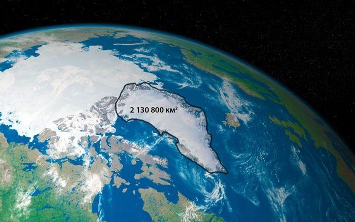 Площадь самого большого острова планеты