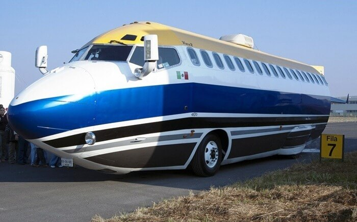 Boeing 727 Jet Limo