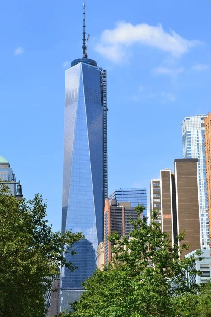 Всемирный торговый центр 1 – 541,3 метра