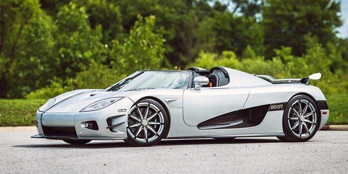 Koenigsegg CCXR Trevita – самая дорогая машина в мире
