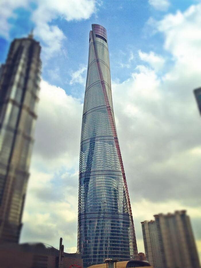 Шанхайская башня – 632 метра