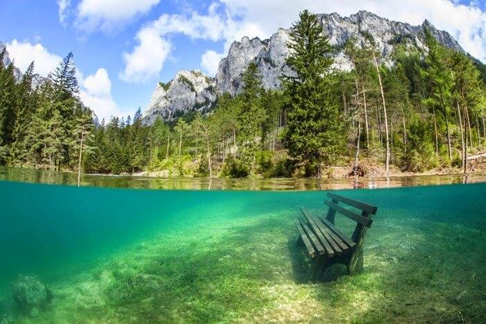 Зеленое озеро, Австрия