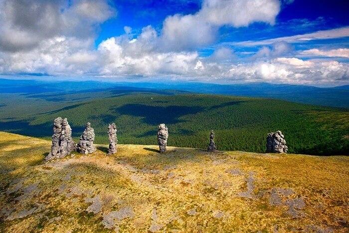 Семь гигантов, Россия