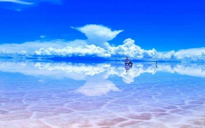 Солончак Салар-де-Уюни, Боливия