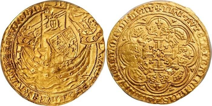 Флорин Эдуарда III, 1343 год