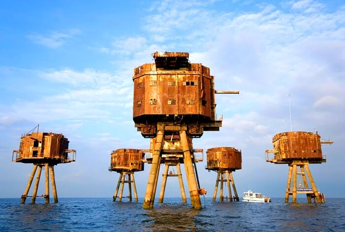 Морские форты Манселла, Англия