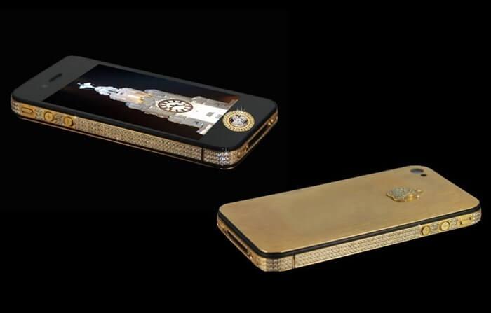 iPhone 4S Elite Gold Edition