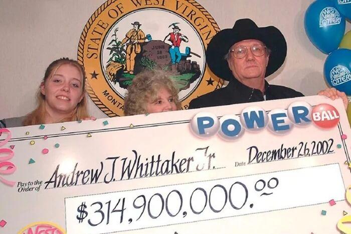 Лотерея PowerBall – 315 млн долл., 2013 год