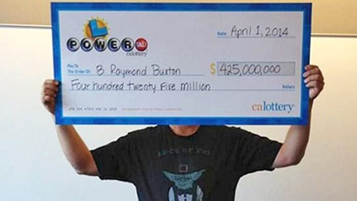 Лотерея PowerBall – 425 млн долл., 2014 год