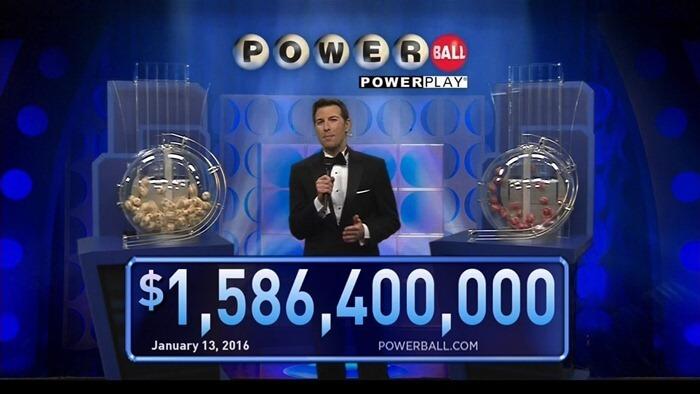 PowerBall – $1 586 400 000, 2016 год, самый большой выигрыш в лотерею в истории