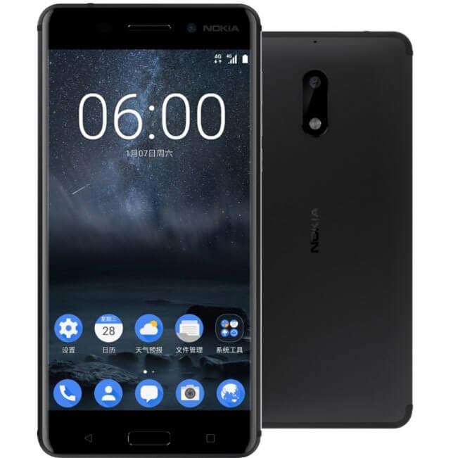 Nokia 6 открывает рейтинг смартфонов 2018 до 15000 рублей