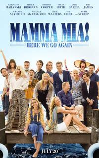 MammaMia2 новинка в списке лучших фильмов 2018