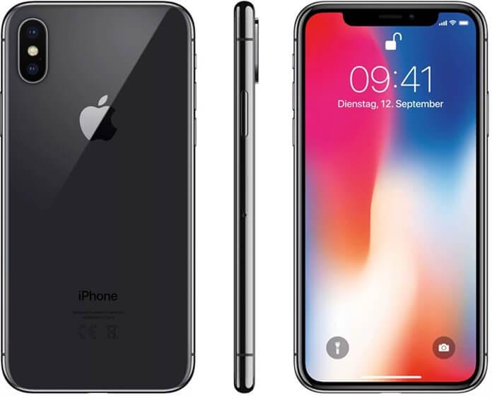 Apple iPhone X самый дорогой камерофон в рейтинге