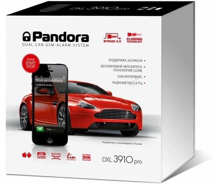 Pandora DXL 3910 – лучшая сигнализация с автозапуском