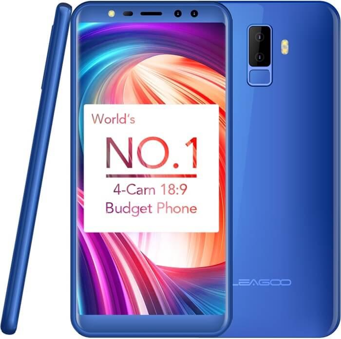Leagoo M9 открывает рейтинг недорогих смартфонов 2018 года