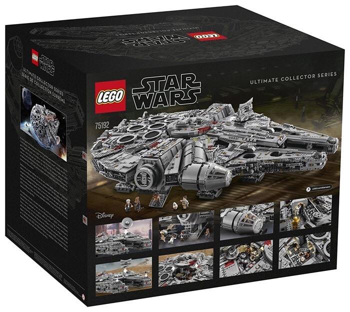 Millennium Falcon (75192) – самый большой набор LEGO