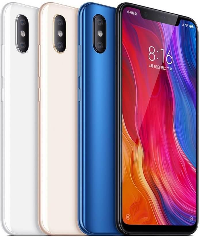 Новинка Xiaomi Mi 8