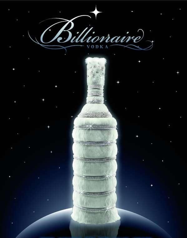 Billionaire vodka – самая дорогая водка в мире