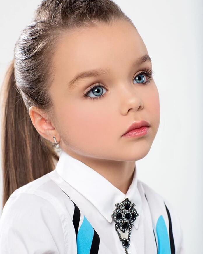Анастасия Князева – самая красивая девочка России и мира