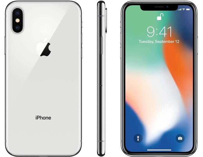 Apple iPhone X цвета
