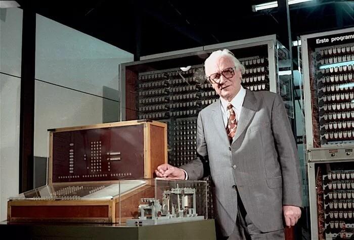 Конрад Цузе и компьютер Z3