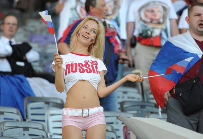 Наталья Немчинова – болельщица-порнозвезда