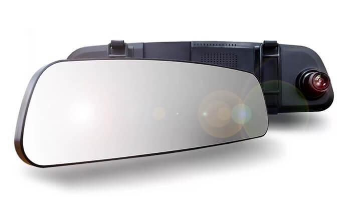 TrendVision MR-710GP – лучший видеорегистратор-зеркало