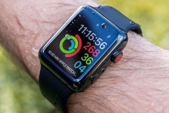 Круги активности Apple Watch Series 3