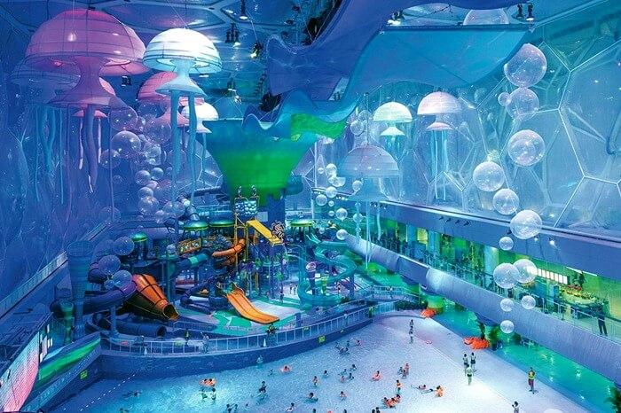 Watercube – самый большой аквапарк в мире
