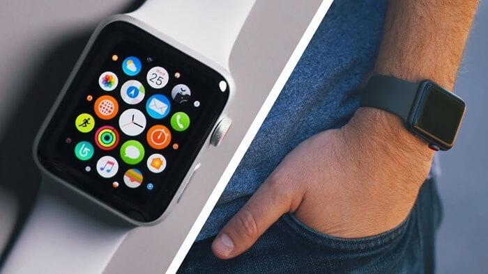 Apple Watch Series 3 лучшие смарт часы 2018 года