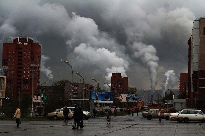 Братск самый экологически загрязненный город России