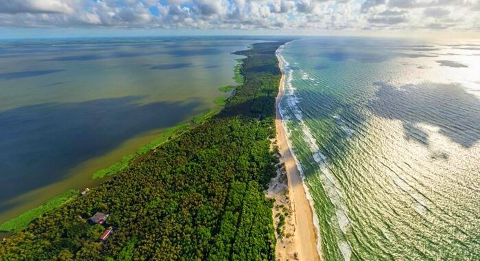 Куршская коса самый красивый российский пляж