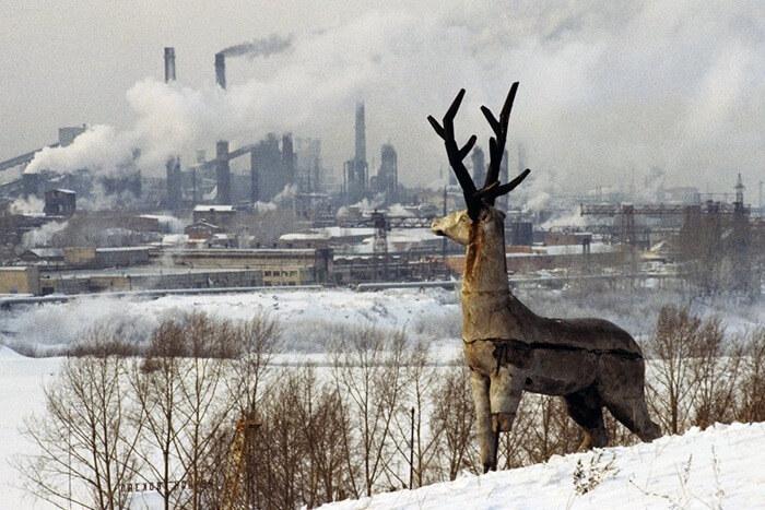 Новокузнецк загрязнение