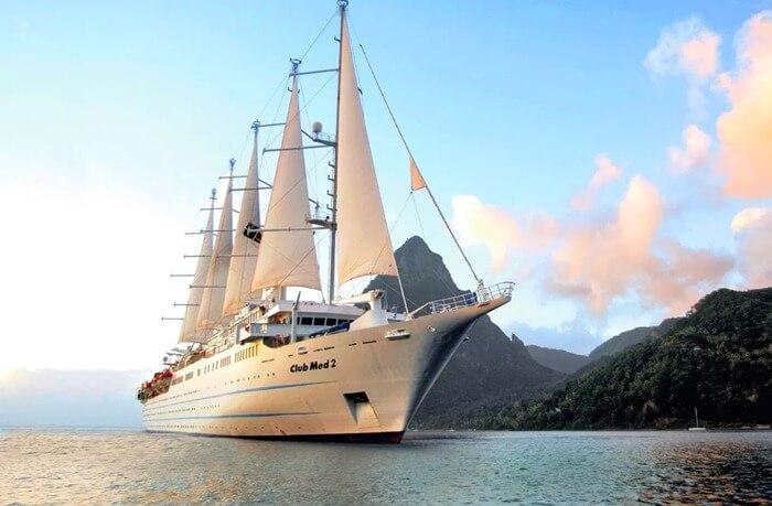 Club Med 2 самый большой парусник в мире