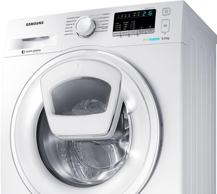 Samsung WW65K42E08W – лучшая стиральная машина 2018 года