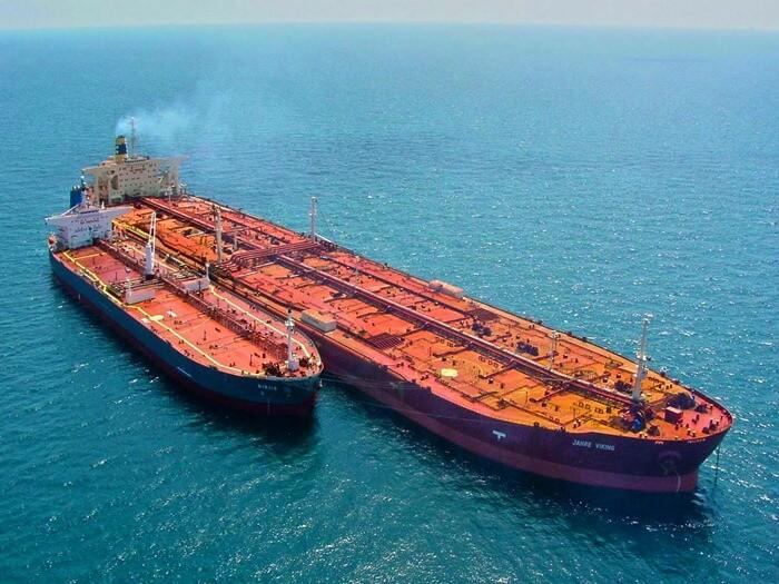 Knock Nevis самый длиннющий корабль