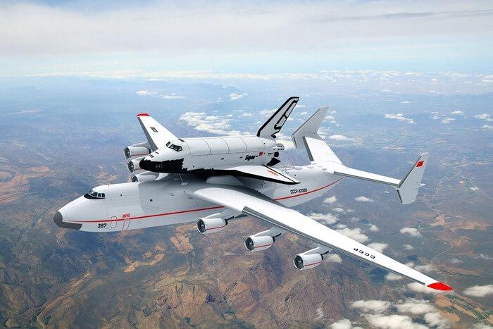 Ан-225 (Мрия) – самый большой самолет в мире