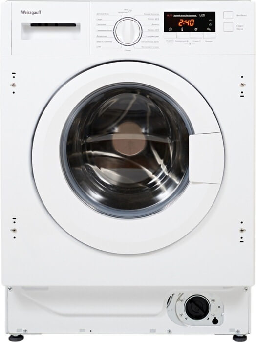 Weissgauff WMI 6148D лучшая встраиваемая стиральная машинка