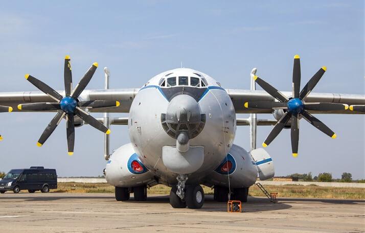 Ан-22 самый большой турбовинтовой самолет