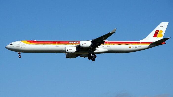 Airbus A340-600 самый длинный пассажирский самолет