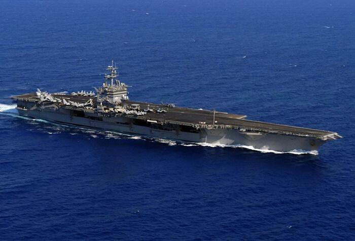 USS Enterprise (CVN-65) наибольший военный корабль