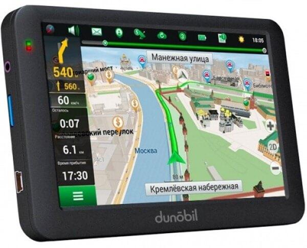 Dunobil Modern 5.0 в рейтинге автомобильных GPS навигаторов