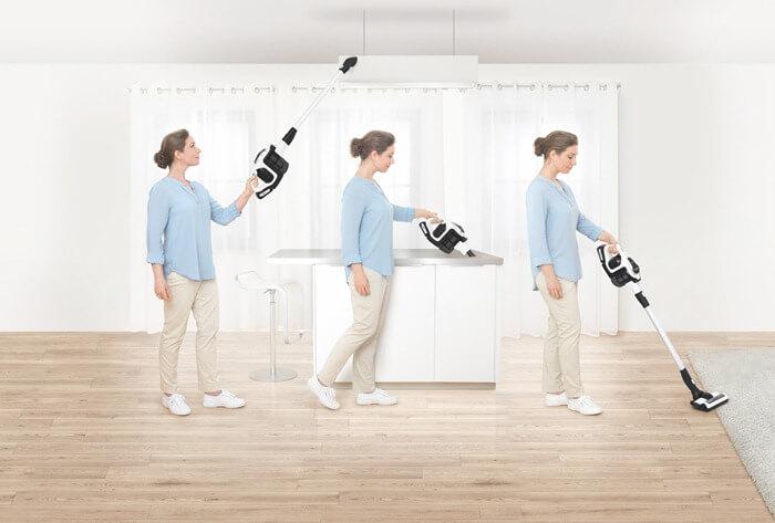 Bosch Unlimited уборка в труднодоступных местах