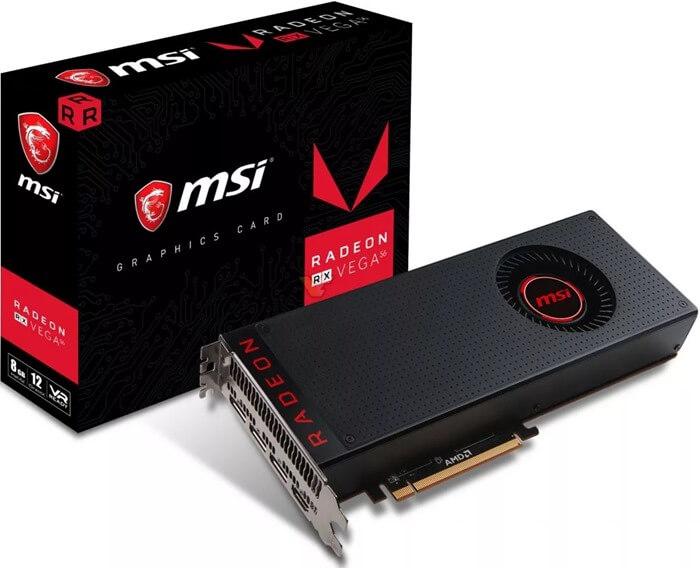 AMD Radeon RX Vega 56 8 ГБ