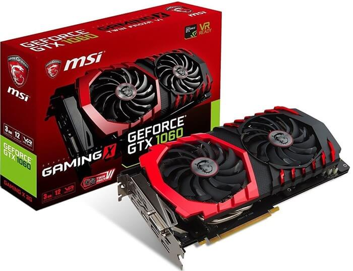 Nvidia GeForce GTX 1060 6 Гб