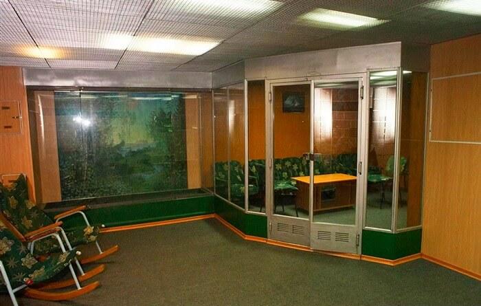 Проект 941 «Акула» фото внутри