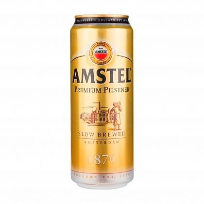 Amstel – лучшее светлое пиво в России